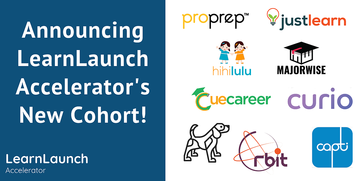 LearnLaunch Accelerator Announces Eighth Edtech Cohort