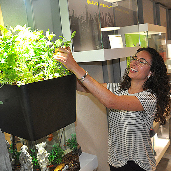 Students, Alumni Offer One Solution to Sustainability: Just Grow